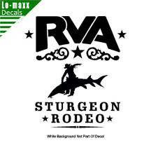 rva sturgeon rodeo die cut vinyl decal 1