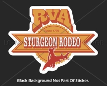 rva sturgeon rodeo printed vinyl sticker ebay 1